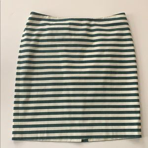 Talbots || Striped Skirt